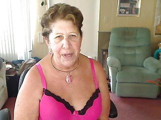 Masturbating large boob granny alternative n roll