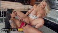 Brazzers - belt on gina valentina doms her recent stepmom julia ann