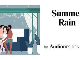 Summer rain mfm trio erotic audio, porn for hotties asmr