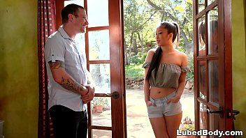 Teacher copulates an oriental legal age teenager during the time that his wife taking a nap - jade kush