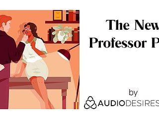 The fresh professor pt. i erotic audio porn for women, asmr